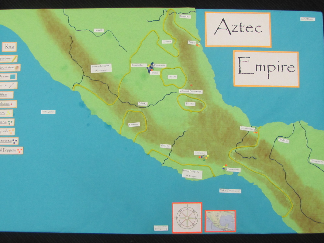 Map - Aztec Empire